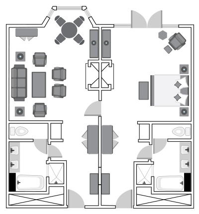 Makinson Suite Floor Plan