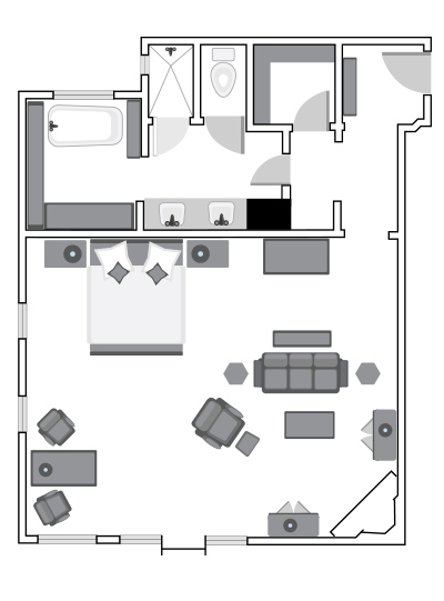 Thorsen Suite Floor Plan