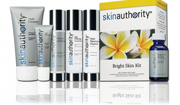 Skin Authority product line