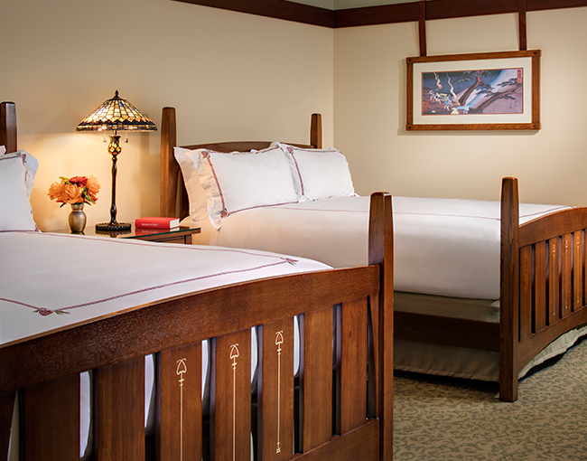 Signature Room double beds