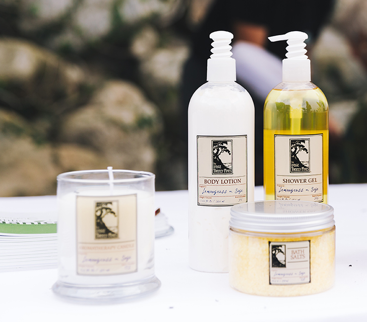 Signature Sage Lemongrass Spa Products from The Lodge at Torrey Pines