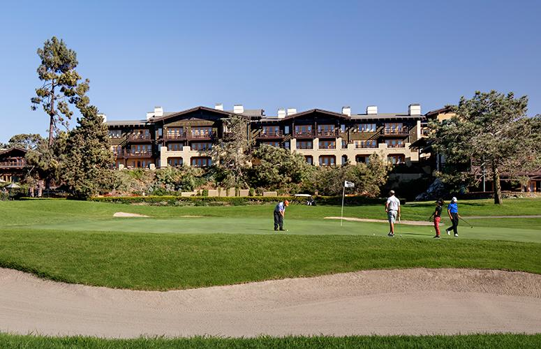 Overlooking The Lodge at Torrey Pines
